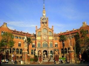 Hospital de la Santa Creu i Sant Pau by Jaume Meneses