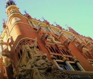 Palau de la Musica Catala by Jaume Meneses