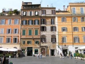 Piazza Santa Maria in Trastevere by Damouns