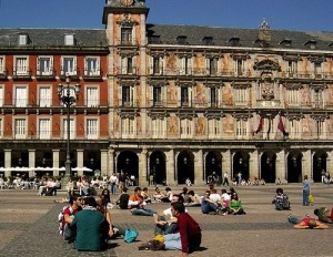 Plaza Mayor, Madrid by Bitterroot