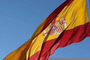 Spanish flag by giladr