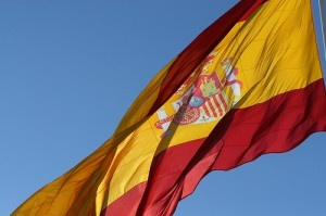 Spanish flag by giladr