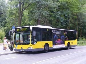 B-RG 8620, BVG MB Citaro, Linie 161, S-Bf Rahnsdorf. by sludgegulper