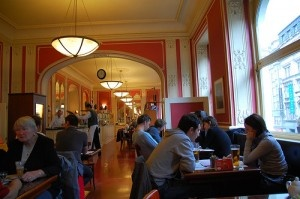 Cafe Louvre by LWY