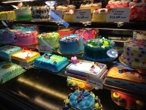 Colourful cakes - raybouk