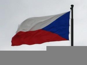 Czech flag by gelle.dk