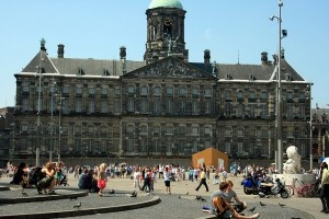 Dam square by Abeeeer