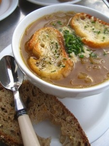 French onion soup by rick