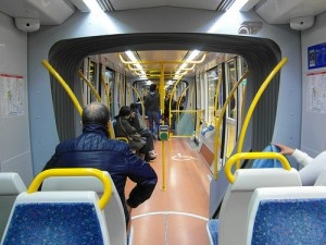 Madrid - Inside Tram - Metro Ligero ML1 by IngolfBLN