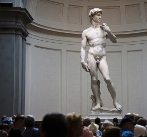 Michelangelo's David by San Diego Shooter