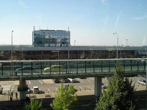 Prague Airport by Sue Manus