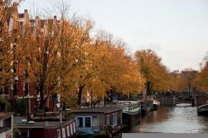 The Jordaan in autumn by Marjolein