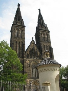 Vysehrad Church by marcus_and_sue