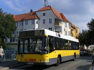 BVG Berlin bus B-V 1383, Linie 188, S-Bf Botanischer Garten. by sludgegulper
