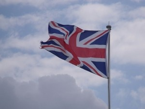 British flag by ell brown