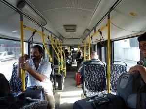 Bus TXL de Tegel a la Hauptbahnhof by galio