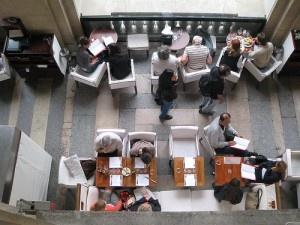 Café Louvre by shok