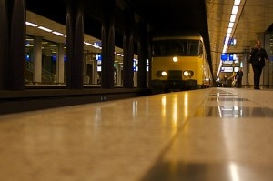 Schiphol Train by smlp.co.uk