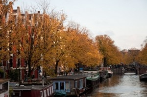 The Jordaan in autumn by Marjolein