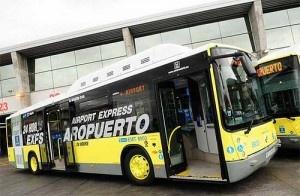 BUS EXPRESS ATOCHA AEROPUERTO DE MADRID BARAJAS by Mirayvuela