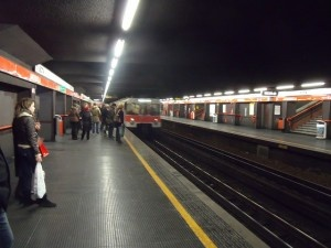 Milan underground by JohnSeb