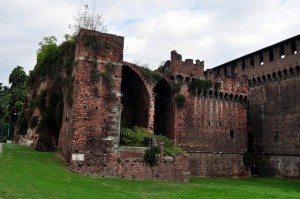 Sforzesco castle by Rafel Miro