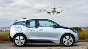 DriveNow-car sharing Berlin airports